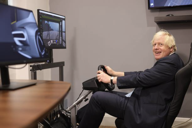 Aidrivers Boris Johnson