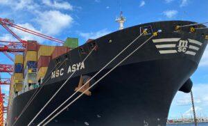 MSC Asya Port Botany
